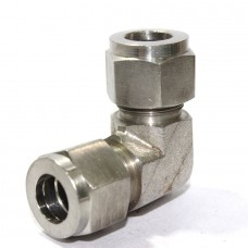 SS Reducing Elbow Union Connector Compression Double Ferrule OD Fitting Stainless Steel 304.